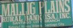 Mallig Plains Rural bank